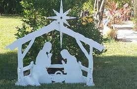 medium size outdoor nativity sets mynativity