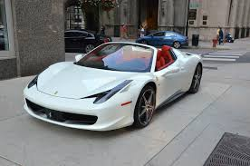 used 458 spider 2013 458 spider stock gc1206 s for sale near chicago il