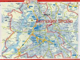 Berlin Map Berlin Tourist Map Berlin U2022 Mappery
