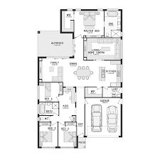 impressive inspiration open plan living floor plans australia 1