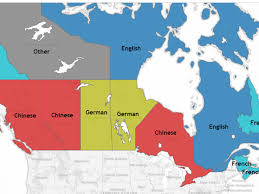 map of the provinces of canada what are the most popular languages in your province interactive