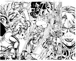 miss marvel 28 pg 12 13 inks by mariah benes on deviantart