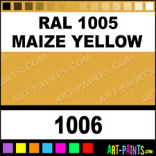 ral 1005 maize yellow glossy acrylic airbrush spray paints 1006