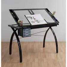 Studio Drafting Table by Studio Designs Futura Drafting And Craft Table Color Black Frame