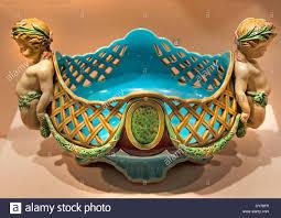 boat shaped ornamental vase albert ernest carrier belleuse minton