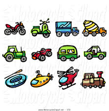 jeep clip art transportation clipart of a group of travel icons atv scooter