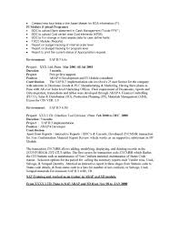 Sap Sd Resume 5 Years Experience Sap Abap Resumes For Experienced Sidemcicek Com
