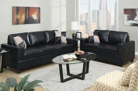 Modern Gray Leather Sofa by Living Room Outstanding Black Leather Sofa Set Black Leather