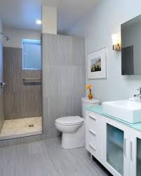 Basement Bathroom Ideas Kind Of Got Hooked On No Door Showers In Cr Home Decor