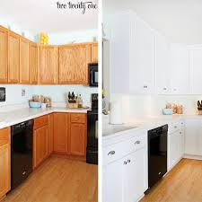 painting kitchen cabinets before after paint kitchen cupboards with no sanding use esp owatrol older