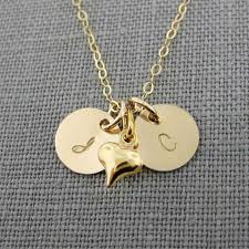 Stamped Name Necklace Jc Jewelry Design Itty Bitty Gold Initial Charm Necklace Gold