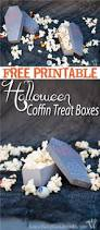 popcorn for halloween free printable halloween coffin treat boxes