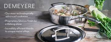demeyere cuisine demeyere cookware pots pans sur la table