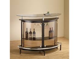 bar units and bar tables contemporary bar unit with smoked acrylic