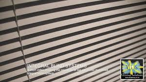 electronically motorised integral blinds yes glazing solutions