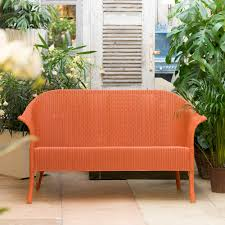 loom sofa buy lloyd loom classic sofa burnt orange genuine lloyd loom