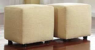 buy ashley furniture 2430213 chamberly buttercup cube ottoman