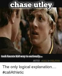 Karate Memes - chase utley took karate kid way to seriously the only logical