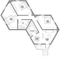 house plans by architects architects for society creates low cost hexagon refugee houses