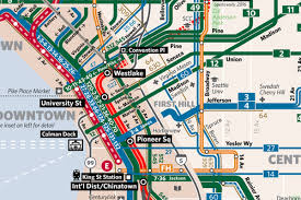 Chinatown Los Angeles Map by New Seattle Transit Map True Costs Of Staying In Seattle Curbed
