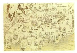 Map Of Jalisco Mexico by Map Of Nueva Galicia In 1540 Shortly After The Uprising Of Natives