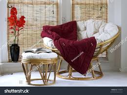 Pink Papasan Cushion by Papasan Chair W Cushion Stool Vase Stock Photo 1558834 Shutterstock
