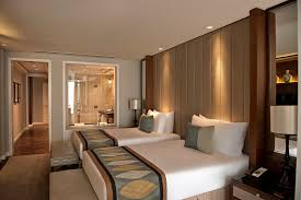 Guest Room With Twin Beds by Exclusively Designed Taj Club Rooms At Taj Dubai