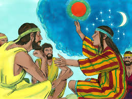 free bible images when joseph is given an ornamental robe then