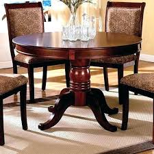 round dining table for 6 with leaf round kitchen table with 6 chairs lesdonheures com