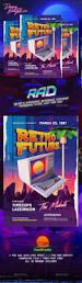 37 best synthwave 80 u0027s design template images on pinterest flyer