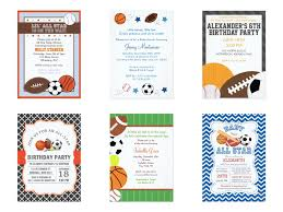 Gift Card Baby Shower Invitations All Sports Party Theme Party Planning Ideas U0026 Supplies