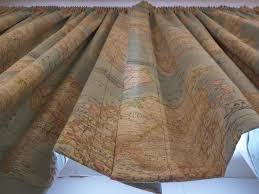 World Map Curtains by Curtains