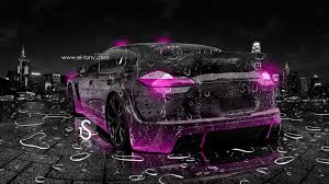 light purple porsche porsche panamera water city car 2013 el tony