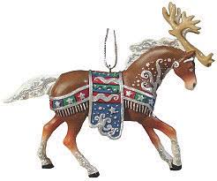 reindeer roundup ornament pony ornaments figurines one price