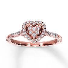 rose promise rings images Rose gold promise rings 3 wedding promise diamond jpg