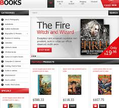 templates for bookshop 14 fully customizable ecommerce templates themes for online