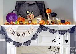 2014 halloween mantle the scrap shoppe