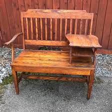 Vintage Telephone Bench Vintage Gossip Benches You U0027ll Fall In Love With