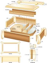 Free Diy Woodworking Project Plans by 9 Free Diy Jewelry Box Plans Ana White U0027s