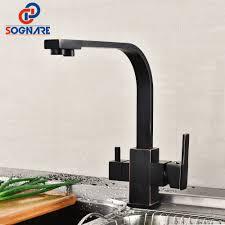 carré cuisine sognare potable filtre à eau robinet 360 degrés pivotant cuisine