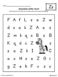 alphabet letter hunt letter i worksheet color letter i