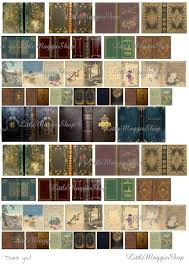 vintage magic book covers set 1 12 scale downloadable