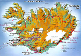 Iceland On World Map by Iceland Jan Eric Osterlund