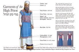 aaron high priest garments high priest aaron in high priest garments the desert tabernacle