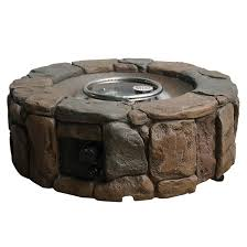 propane outdoor fire pit stone 28