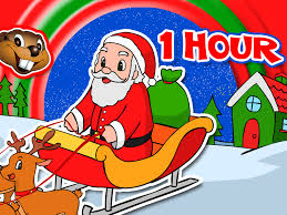santa claus santa claus is coming to town more 1 hour kids christmas songs