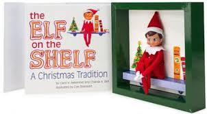 the elf on the shelf a christmas tradition includes blue eyed