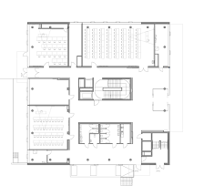 Ground Floor Plan Gallery Of Graz University Center For Production Day Care Hans