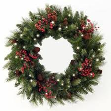 battery lighted fall garland battery lit christmas wreaths wreaths lights and holidays