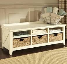 White Bench With Storage Storage Bench Storage Storage Bench White Hallway Bench